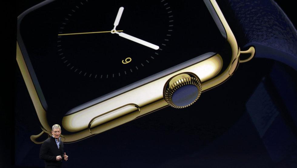 Breakit - Apple frestar stekarna med en guldklocka för 140.000 kronor