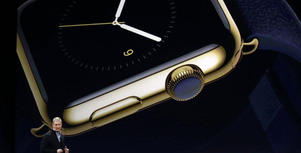 Apple frestar stekarna med en guldklocka för 140.000 kronor