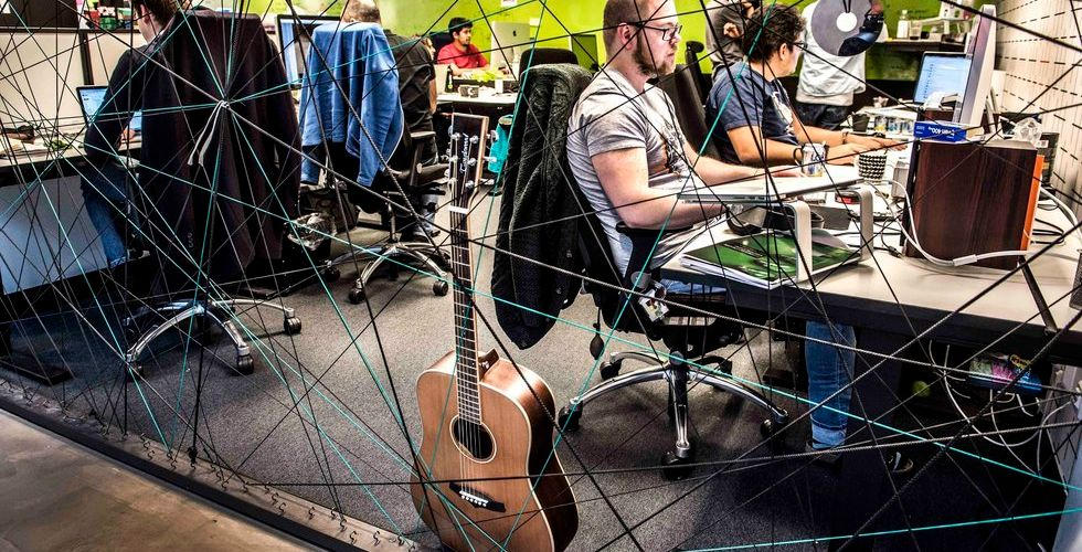 Spotify flyttar in i Gallerian - Swedbank snuvat på sitt kontor