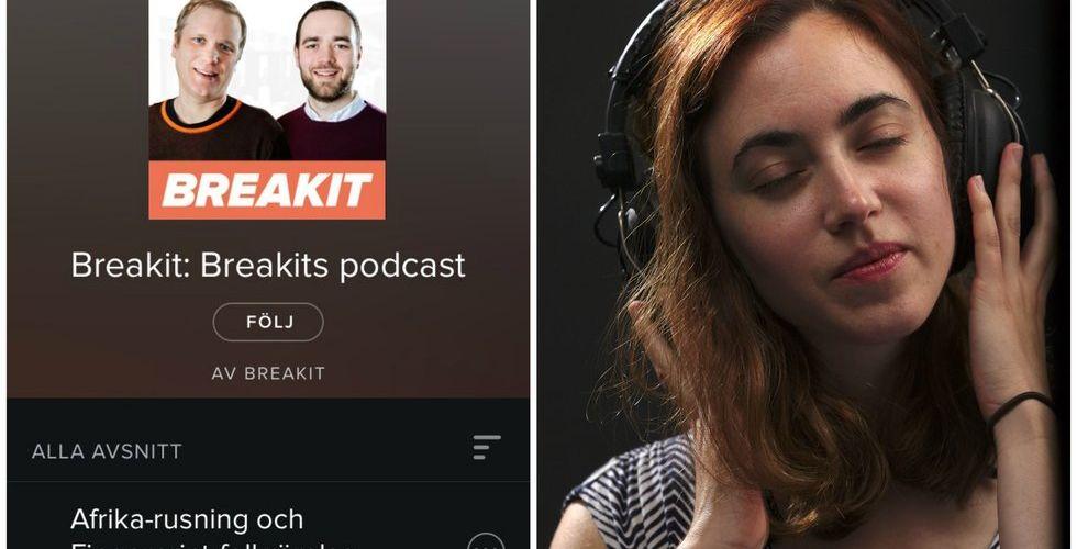 Breakit - Nu finns Breakits podcast på Spotify - i bolagets nya ljudtjänst