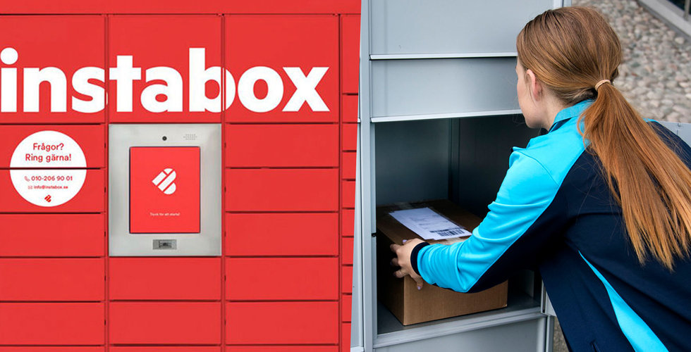 Instabox får tung konkurrens – giganten Postnord satsar på paketboxar