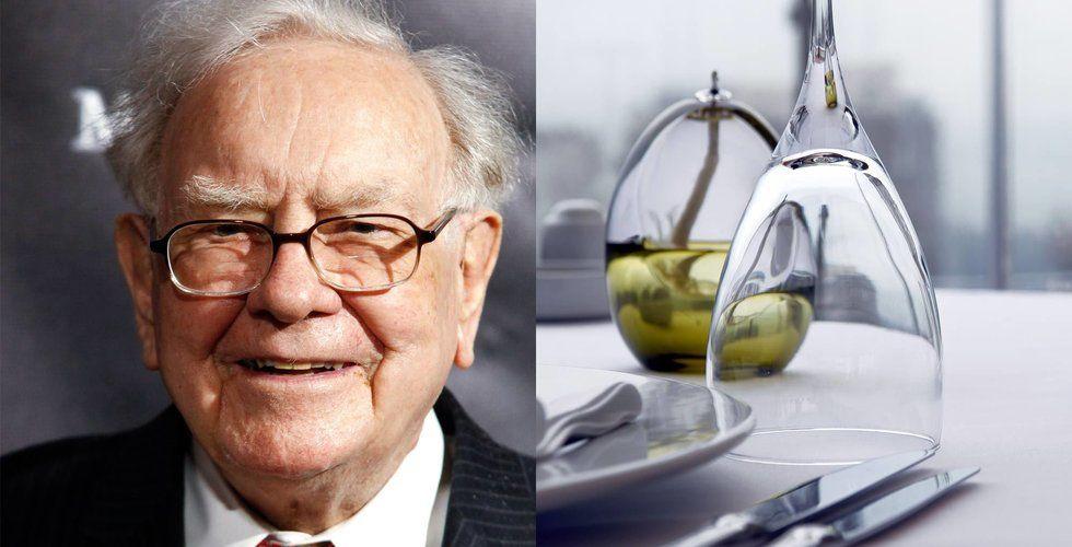 Anonym betalade 30 miljoner för lunch med Warren Buffett