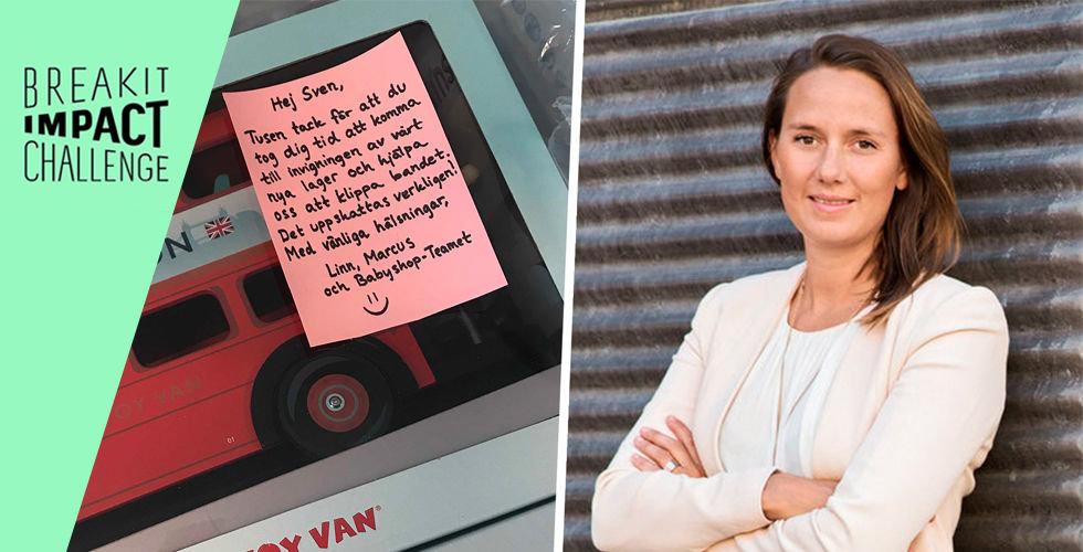 Glädjebeskedet för Babyshop – får busshållplats efter två års kamp