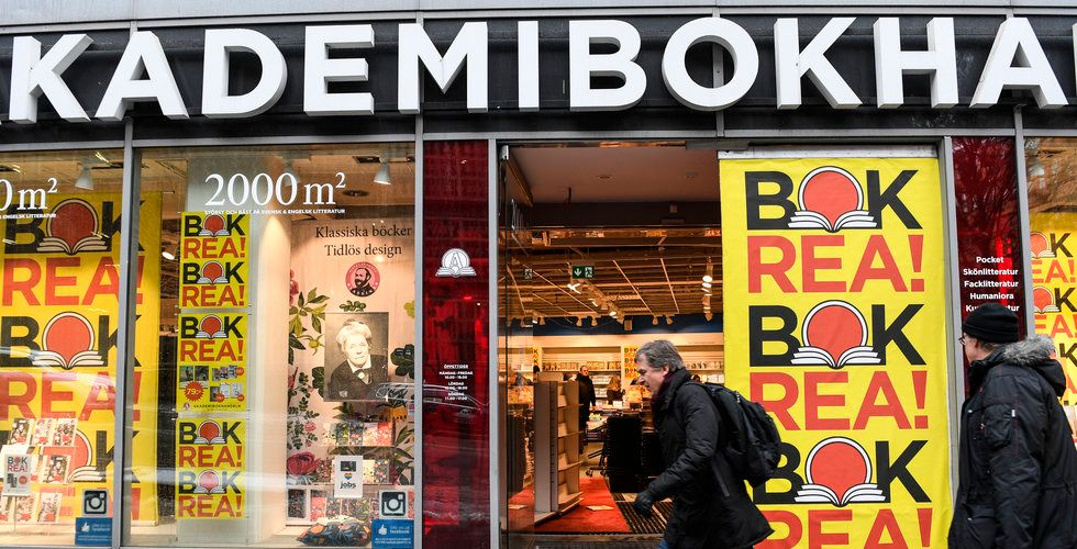 Industrigrupp köper Akademibokhandeln och Bokus