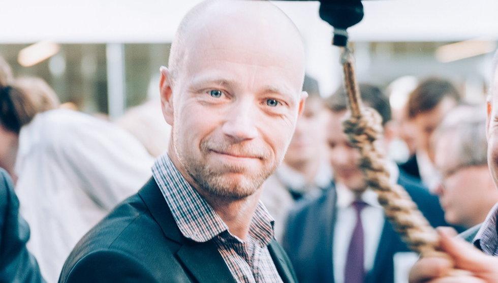 Breakit - John Elvesjö vägrar döden - och längtar efter World Wide Rörpost