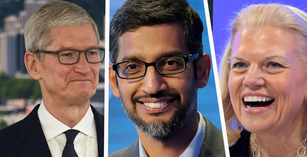Apple, Google och IBM:s vd:ar åker till Kina – vill mildra handelskriget