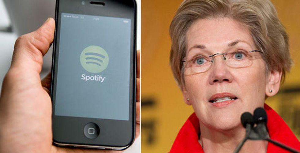 """Politisk tungviktare tar strid för Spotify: """"Apple utnyttjar sin makt"""""""