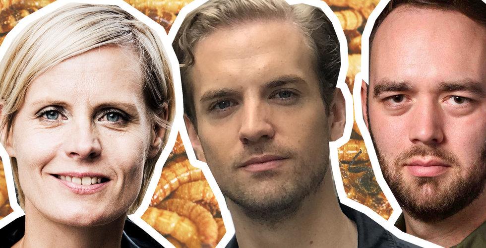 Ätbara maskar, digitala kändishälsningar och framtidsspaningar i Breakit Live
