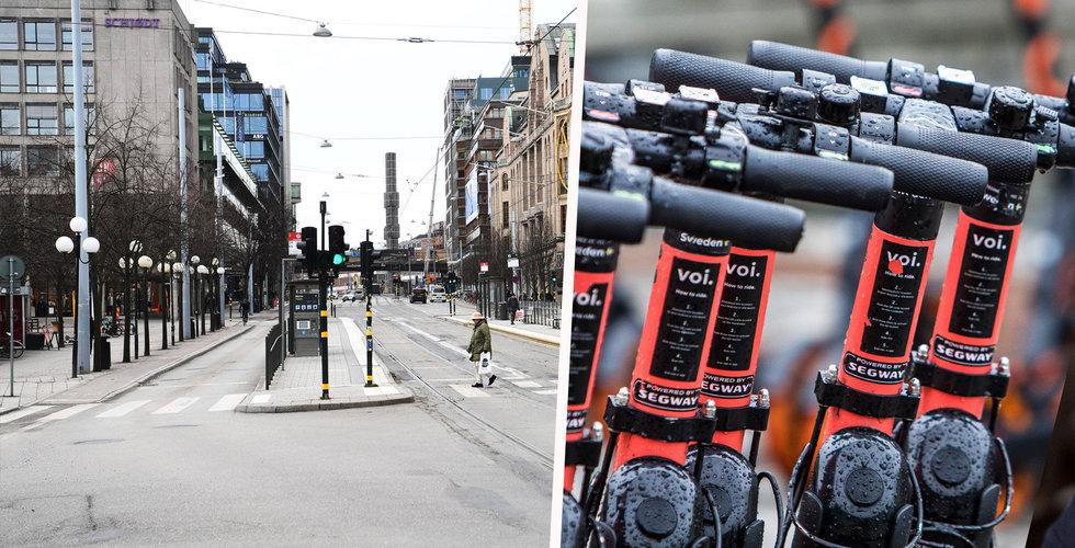 Efter pausen – Voi rullar ut i svenska städer igen