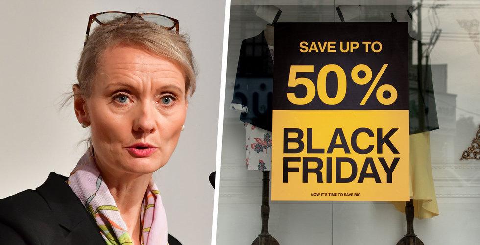 Folkhälsomyndigheten: Kör Black Friday – men handla på nätet