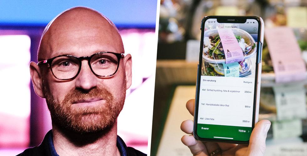 """Snabbmatskedja testar Amazon Go-kopia i Stockholm: """"Mycket snabb variant"""""""
