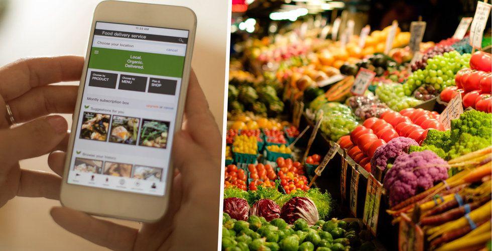 Goda nyheter för matjättarna – vi handlar mer på nätet än i butiken