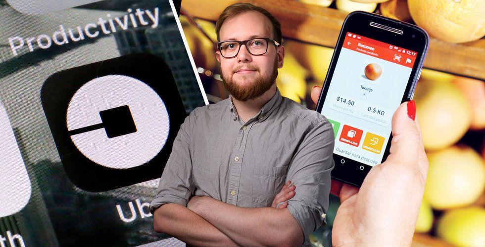 Tobias Blixt: Därför köper Uber svenskens matbolag Cornershop