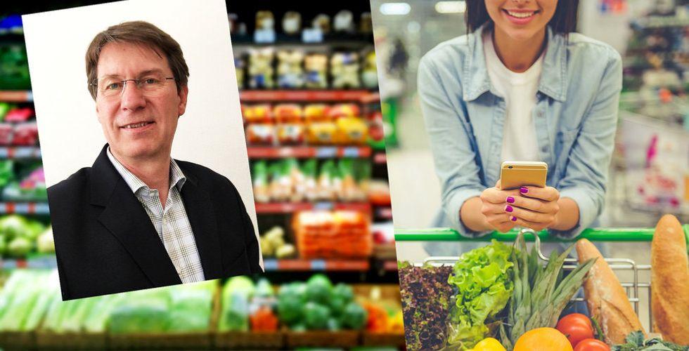Breakit - Ulf Mazur har kollat matpriser i sex år - nu vänder Matpriskollen till vinst