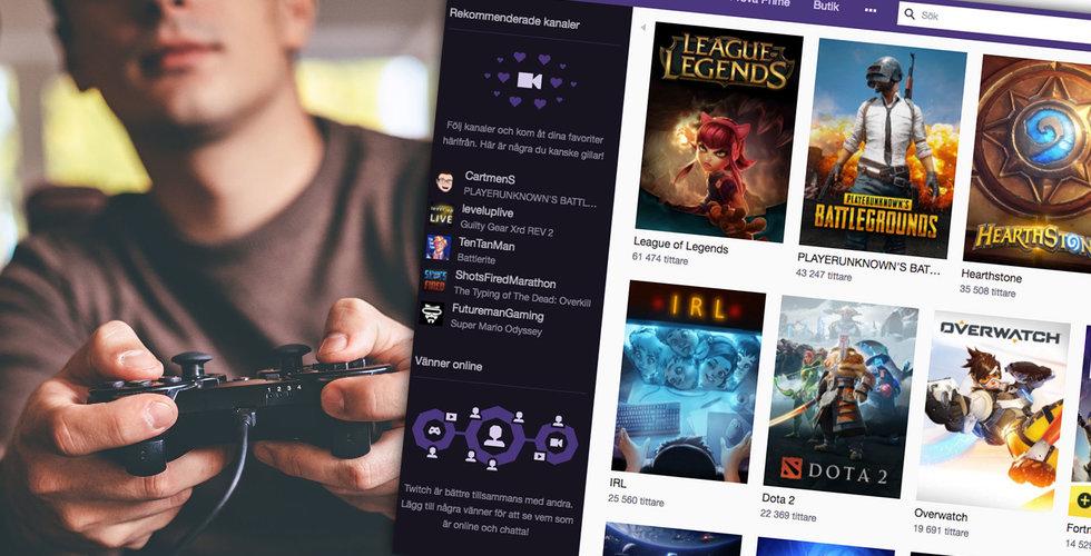 Twitch i svensk offensiv – träffar produktionsbolag i Stockholm