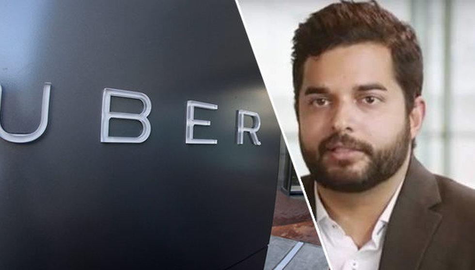 """Ubers nya Sverigechef: """"Det är väldigt mycket startupkultur"""""""