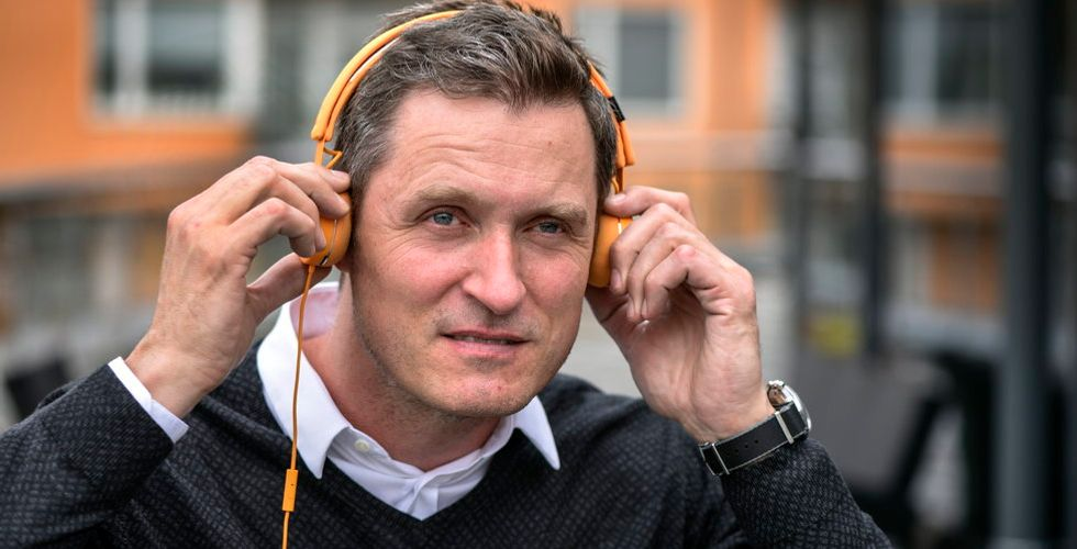 """Storytels vd Jonas Tellander om kritiken: """"Har varit hårda förhandlingar"""""""