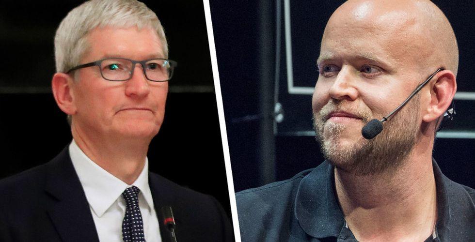 """Spotify hyllar Fortnite-skaparen i kriget mot Apple och Google: """"Har pågått för länge"""""""