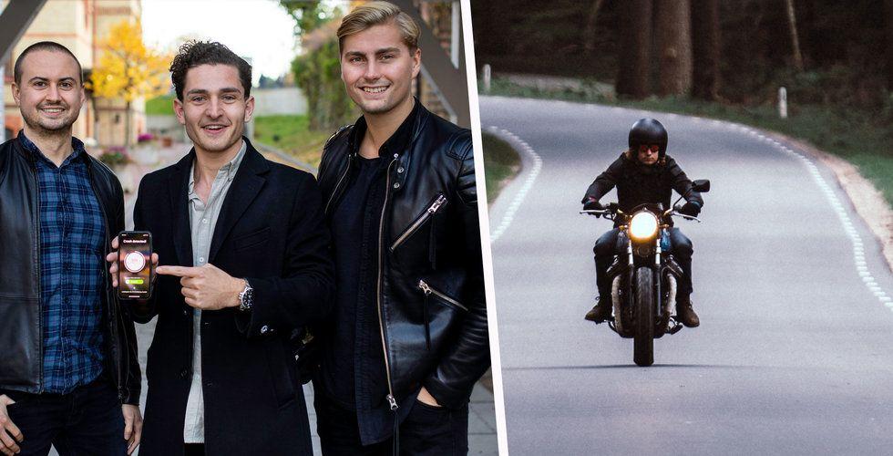 Detecht vill stoppa dödsfall bland motorcykelåkare –  tar in nytt kapital