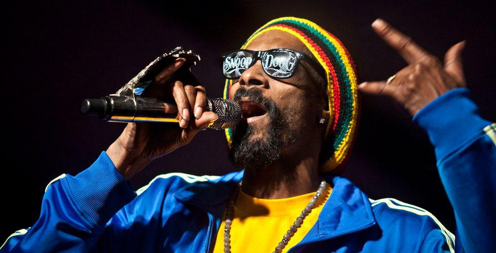 Rapparen Snoop Dogg lanserar socialt medium för cannabis
