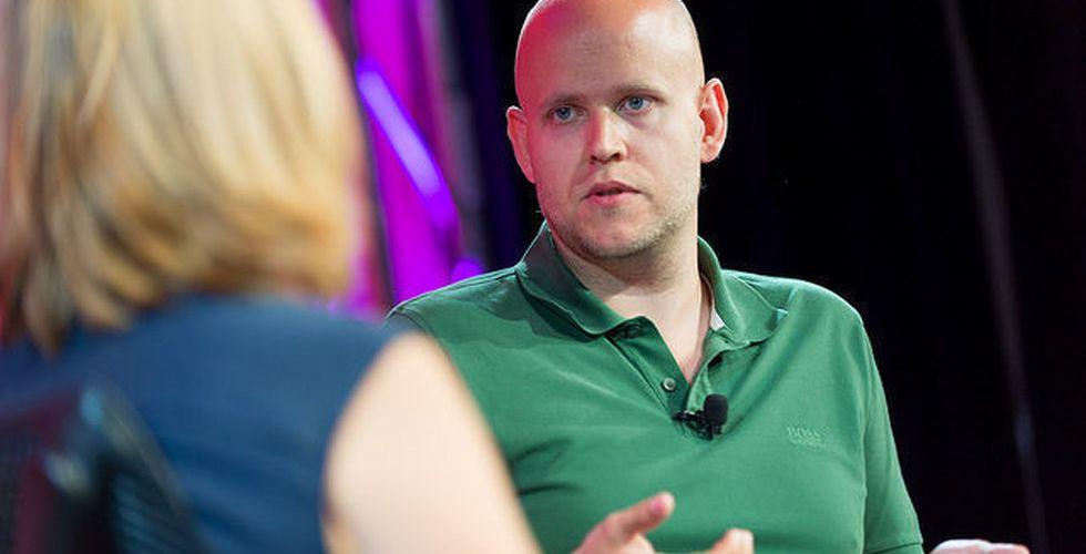 Egna pengar räddningen för Spotify-grundaren Daniel Ek