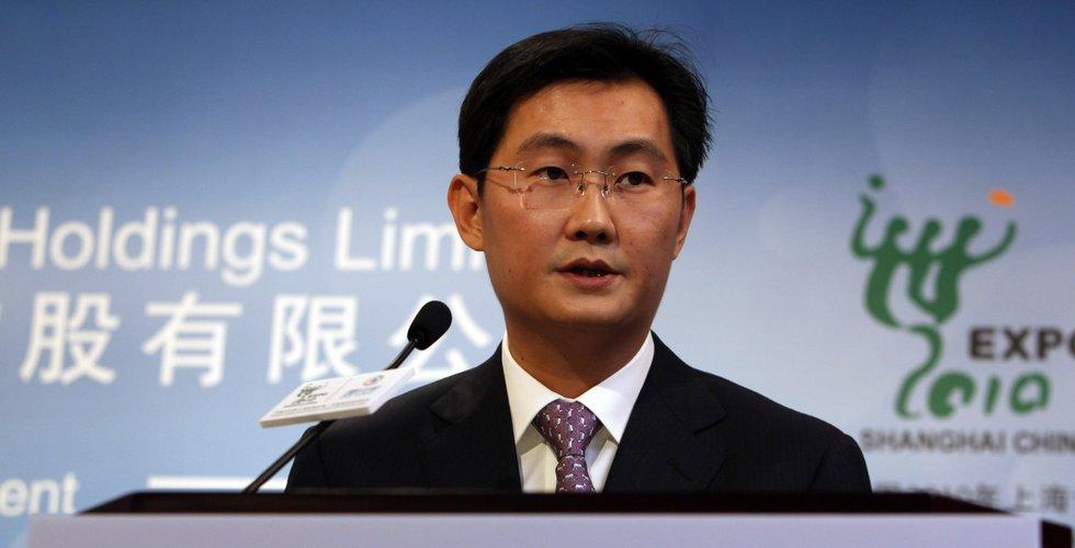 Tencent Music föll i efterhandeln efter svag rapport