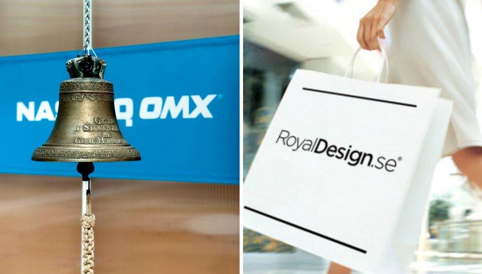 E-handelssuccén Royal Design till börsen - får miljardvärdering