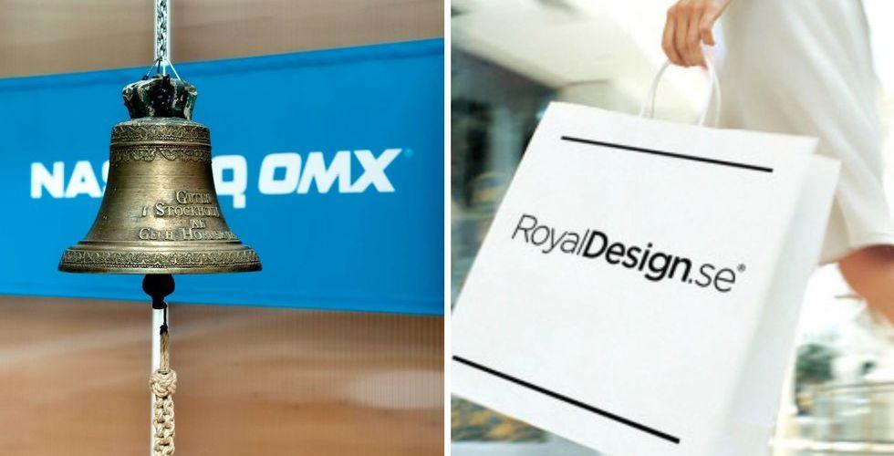 Breakit - E-handelssuccén Royal Design till börsen - får miljardvärdering