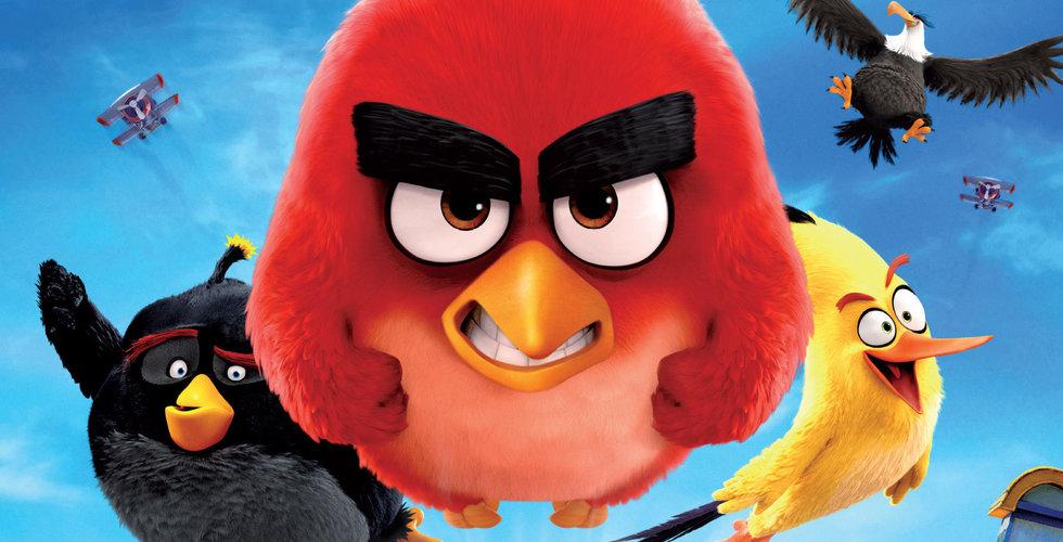 Tencent tittar på köp av Angry Birds-bolaget Rovio