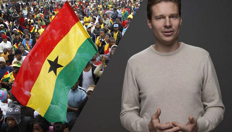 Han startade själv i Ghana - idag är bolaget värt över 1 miljard