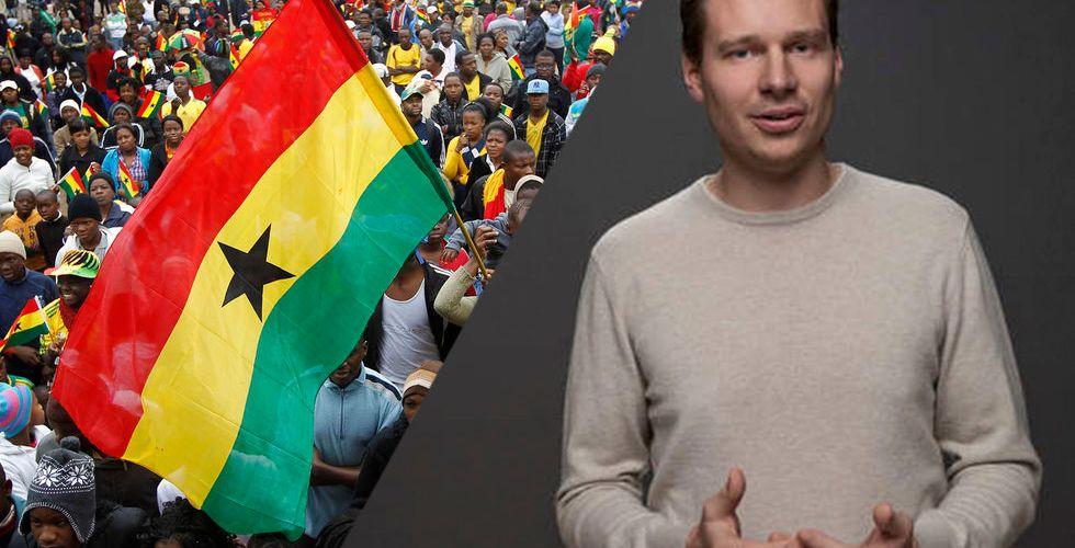 Breakit - Han startade själv i Ghana - idag är bolaget värt över 1 miljard