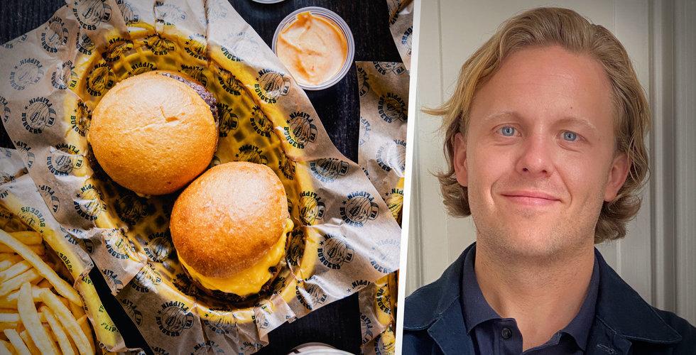 """Tugg burgers slukar Flippin´ Burgers: """"Vi är exalterade"""""""