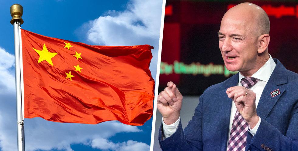 Amazon bekräftar: Lämnar Kina i sommar