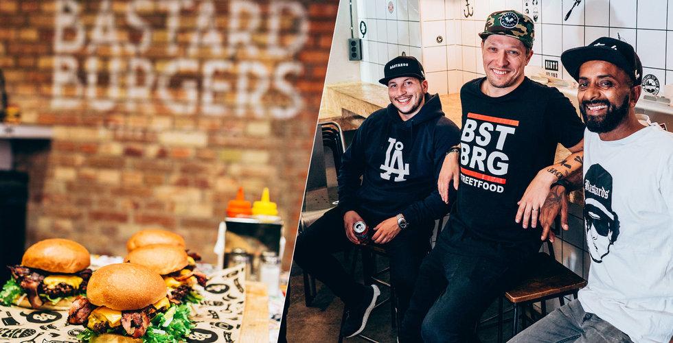 Sålde hamburgare i ett hål i väggen – nu ska Bastard Burgers omsätta 190 miljoner