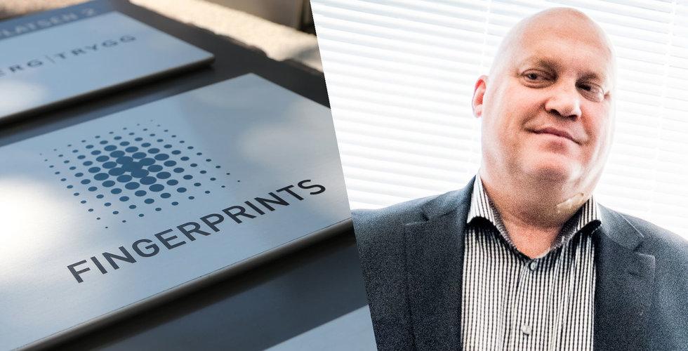 Fingerprint Cards stiger – finanschefen köper också aktier