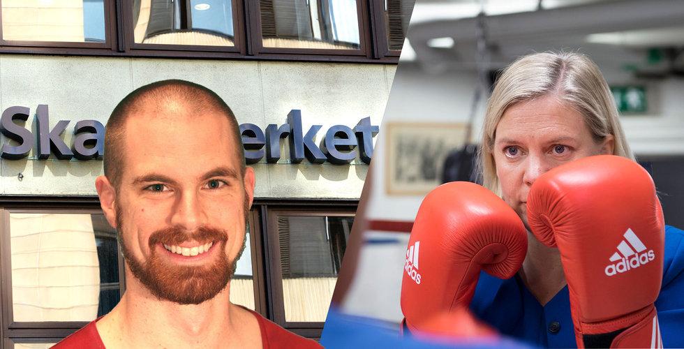 Trots kritik och oro – affärsängeln Erik Byrenius gillar nya personaloptionerna