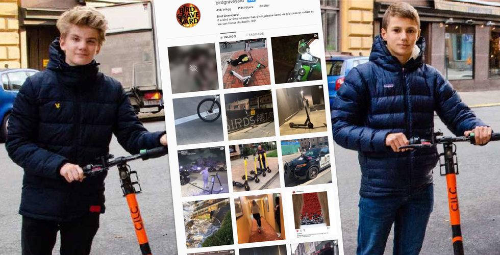 Efter trenden att trasha elsparkcyklar – här är killarna som försöker starta en motrörelse