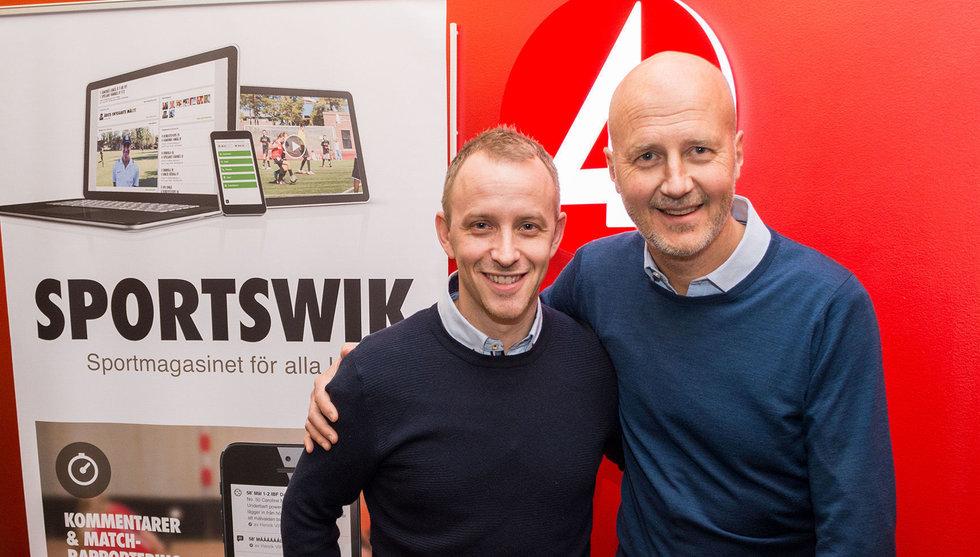 TV4 investerar i Umeå-appen Sportswik - grundad av Martin Wiklund