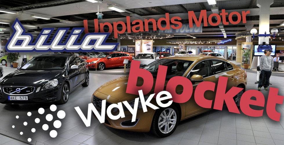 Nu börjar bilkriget – Bilia lämnar Blocket