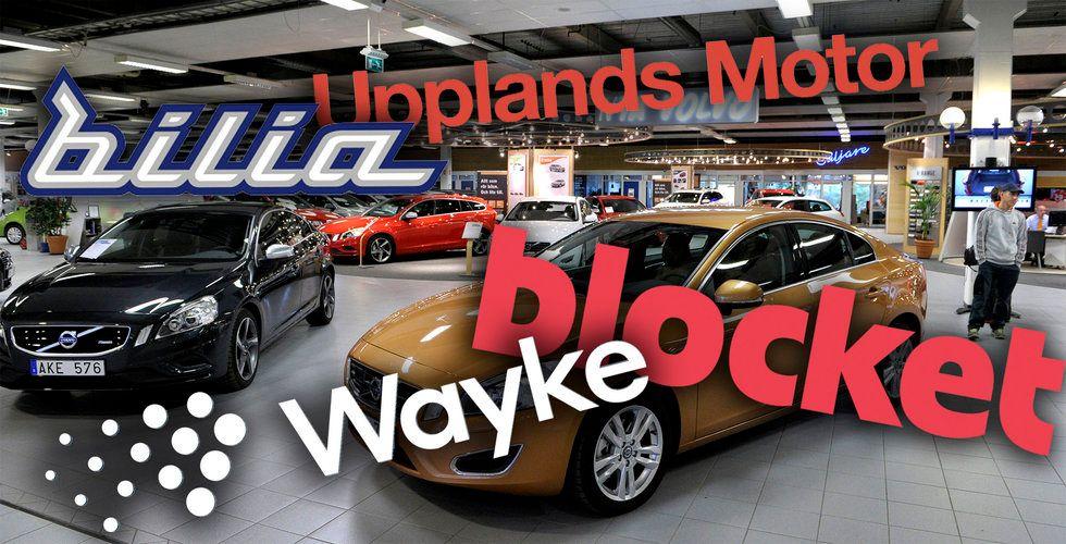 Breakit - Nu börjar bilkriget – Bilia lämnar Blocket