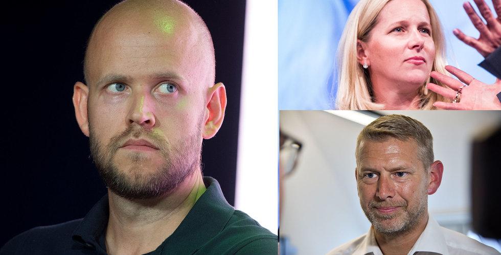 Daniel Ek och Stenbeck investerar i Northvolt