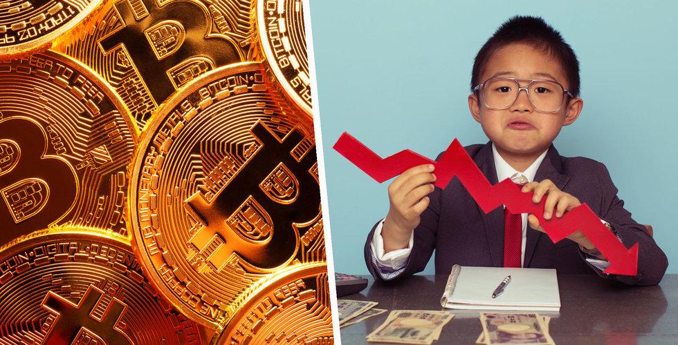 Bitcoin rasar 18 procent