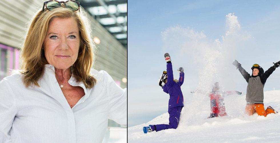 Se upp i backen! Collector-grundaren Lena Apler satsar på Skistar