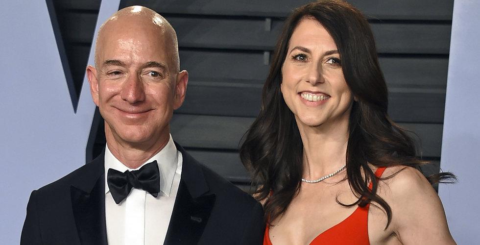 Jeff Bezos ex-fru skänker halva sin förmögenhet till välgörenhet