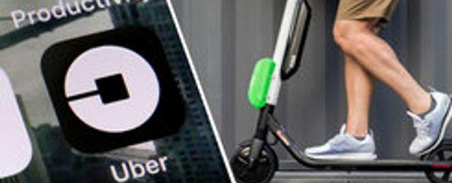 Lime lanserar sin elscooter på Ubers plattform i Stockholm