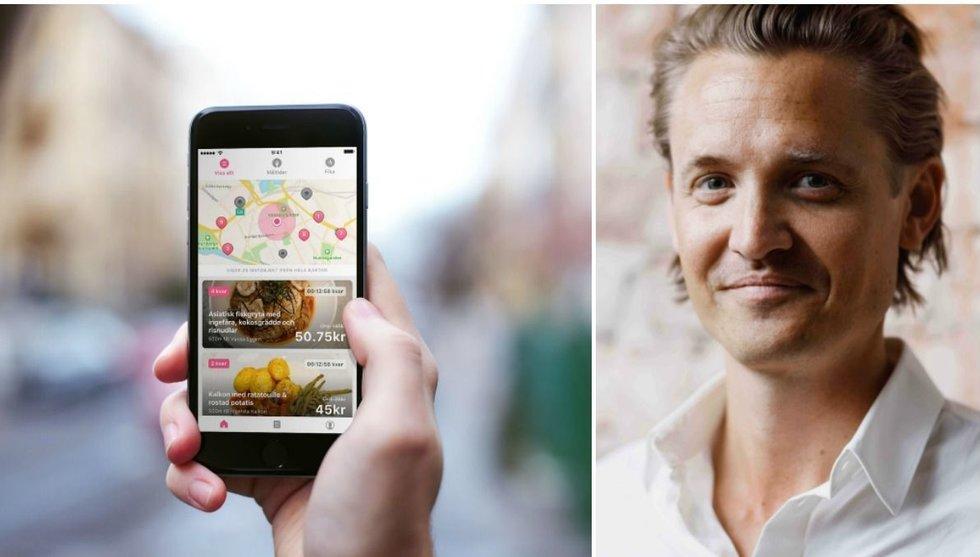 Matsvinns-appen Karma får in pengar från Klarna-grundaren