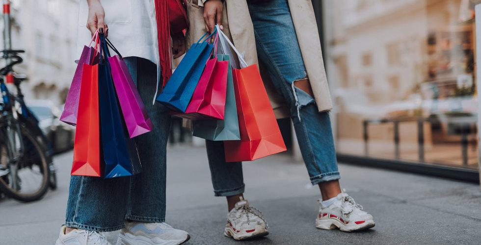 Tungt för klädhandeln – föll över 30 procent i december