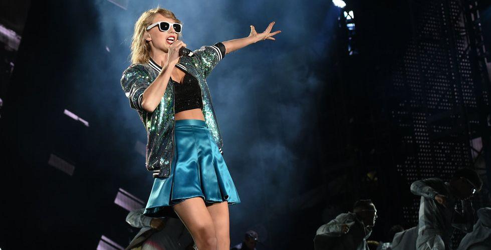 Apple Music landar exklusivt konsertavtal med Taylor Swift