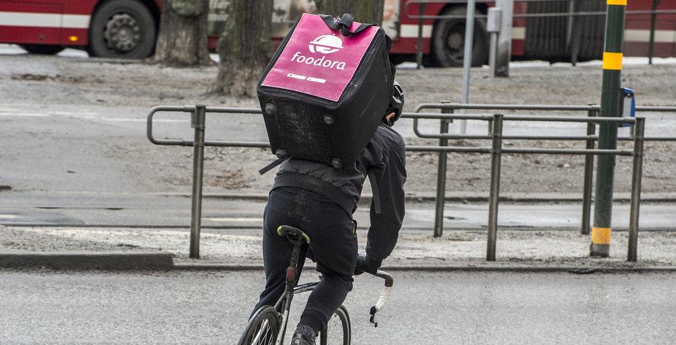 Notan för Foodoras superoffensiv – så går det för de rosa cykelbuden