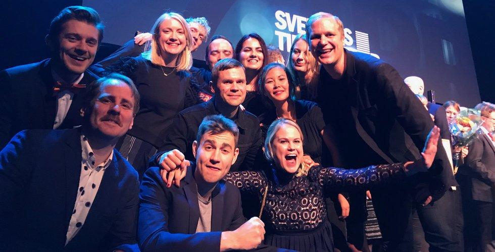 Breakit - Breakit bäst i Sverige – plockar hem tungt prestigepris